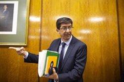 Marín assegura que han de provar que el model del nou Govern andalús