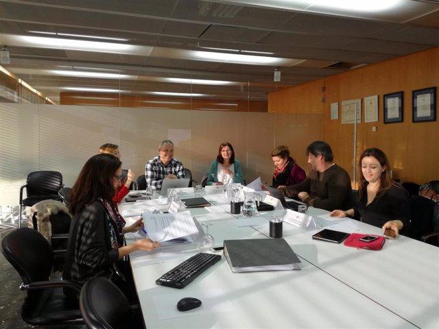 Mesa de trabajo de los Sectores Estratégicos Turísticos (SET) en la sede de la A