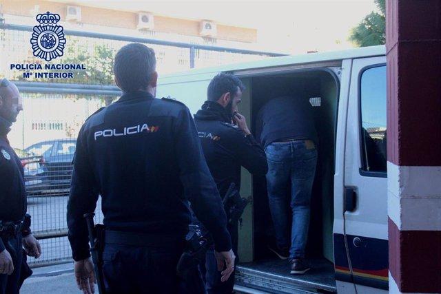 Detenido en Huércal de Almería