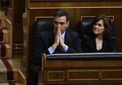 Pedro Sánchez contestarà al Congrés a preguntes de PP, Ciudadanos i Podem sobre el seu balanç (Oscar del Pozo - Europa Press)