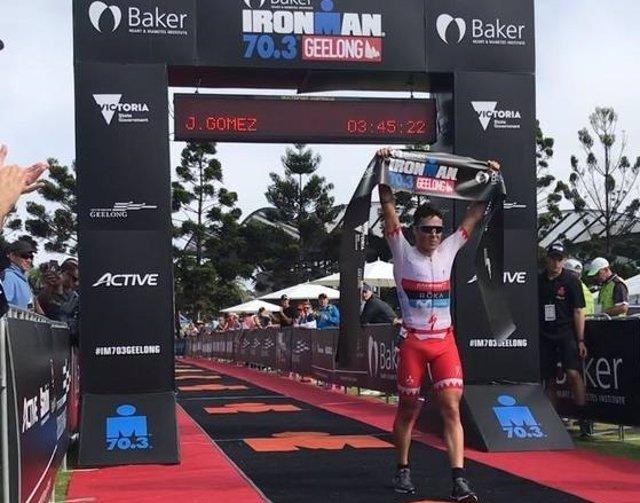 Javier Gómez Noya Medio Ironman de Geelong