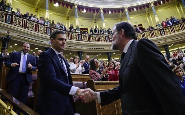 Sánchez: 'Hasta el último minuto deseo que Rajoy plantee la dimisión. No quería ser presidente a cualquier precio'