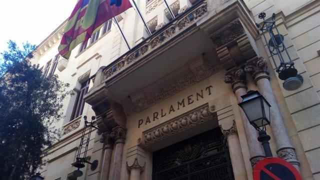 Façana del parlament dels Illes Balears