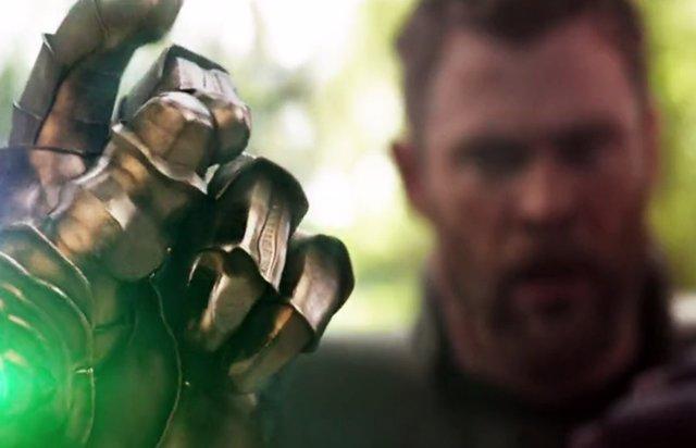 Chasquido de Thanos en Vengadores: Infinity War