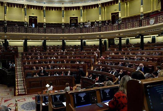 Diputats en la sessió de control