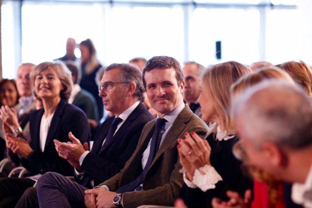 Acte de clausura de la Convenció d'Economia i Ocupació del PP a Saragossa (Aragó