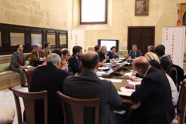 Reunión de la Comisión Ejecutiva del Plan Estratégico Sevilla 2030