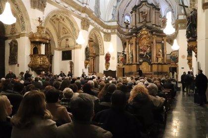 """Vicente Jiménez destaca la """"obra ingente"""" que ha supuesto la restauración de la iglesia de la Magdalena"""