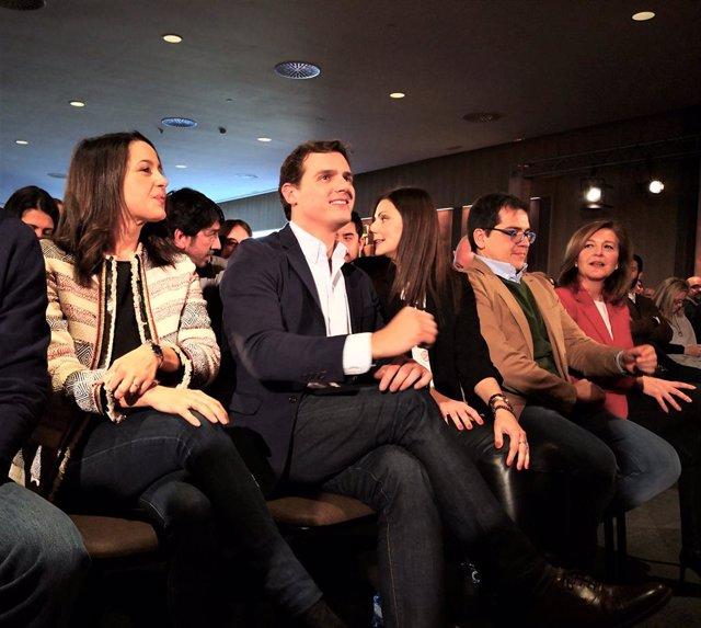 Inés Arrimadas, Albert Rivera, Lorena Roldán, José María Espejo-Saavedra, Carin