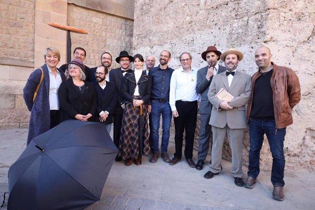 El presidente de la Generalitat Quim Torra abre el Any de la Colla de Sabadell p
