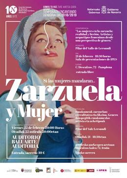 Cartel del espectáculo 'Zarzuela y Mujer. Si las mujeres mandaran...'