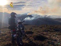 La Guàrdia Civil investiga un altre home com a presumpte autor d'un incendi forestal a San Roque de Río Miera (GUARDIA CIVIL)