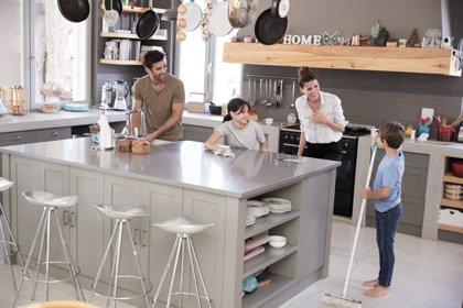 La participación de los niños en las labores del hogar según su edad