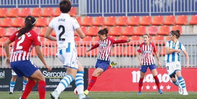 Atleti y Real Sociedad disputarán la final de la Copa de la Reina