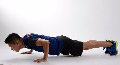 Hacer flexiones, relacionado con menor incidencia de enfermedad cardiovascular