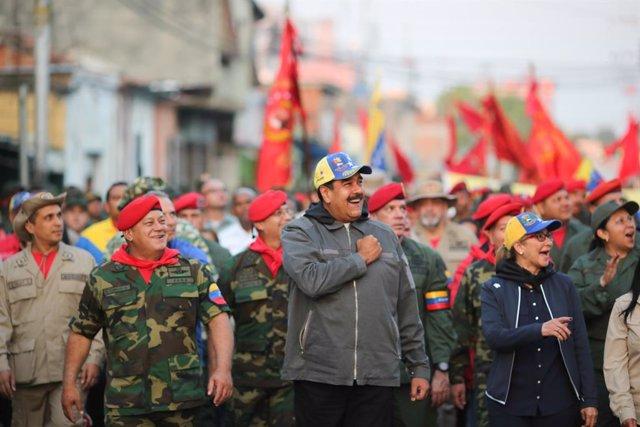Nicolas Maduro y Diosdado Cabello