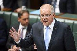 El primer ministre australià assegura que un govern estranger està darrere del ciberatac contra els parlamentaris (Lukas Coch/AAP/dpa)