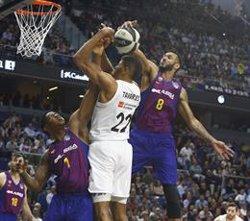 El Barça Lassa, campió de la Copa del Rei després de derrotar el Reial Madrid (93-94) en la pròrroga (ACB)