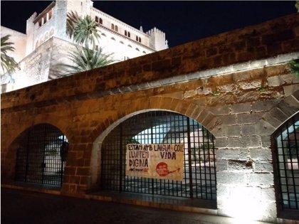 """Endavant pide un salario mínimo de 1.200 euros con una acción en Palma y """"otras ciudades de los 'Països Catalans'"""""""