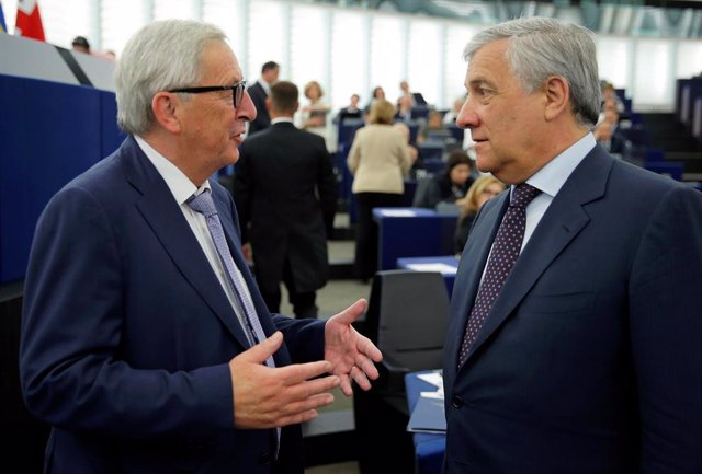 Juncker y Tajani