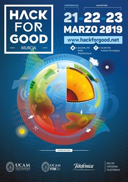 Imagen del cartel del 'Hack For Good'