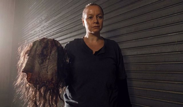 Samantha Morton es Alpha en The Walking Dead