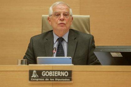 """Borrell condena la expulsión de la delegación del PPE pese a las gestiones de España para """"facilitar"""" su entrada"""