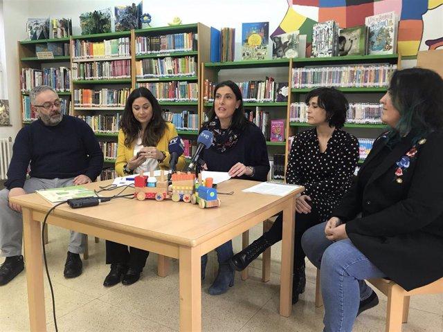 Presentación de las actividades de refuerzo en las bibliotecas