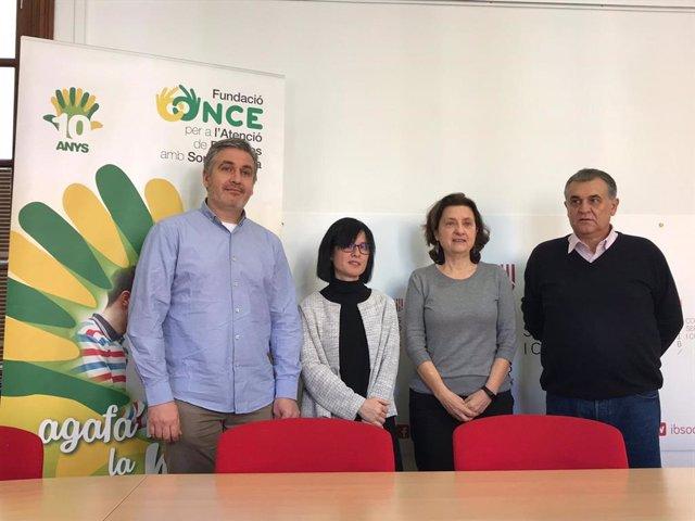 Consellera de Serveis Socials i Cooperació, Fina Santiango,
