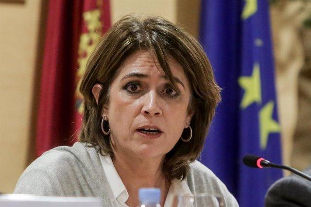 La ministra de Justícia, Dolores Delgado