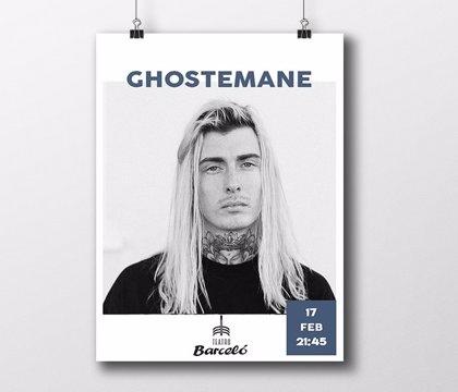 Detenido el rapero Ghostemane y su banda por destrozar el escenario y los camerinos tras su concierto en Barceló
