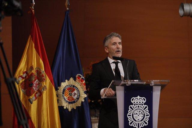 El ministro del Interior preside el acto de conmemoración del 195º aniversario d
