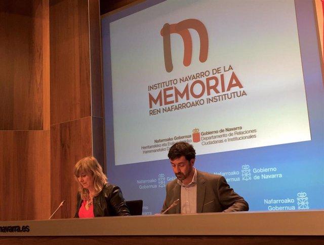 Ana Ollo y Álvaro Baraibar