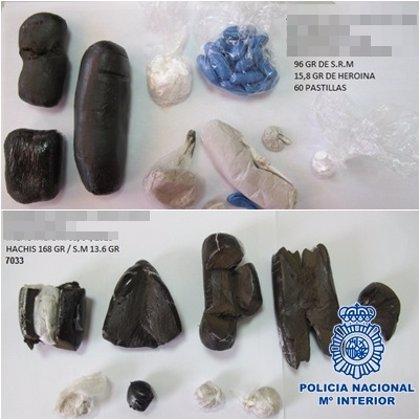 Detienen a 16 personas por introducir droga en la cárcel Las Palmas II