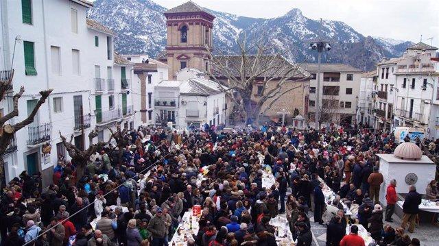 Fiesta de la Asadura de Güéjar Sierra