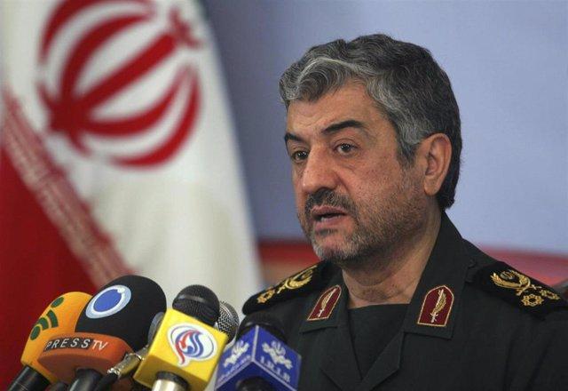 Mohammad Ali Jafari, comandante de la Guardia Revolucionaria iraní