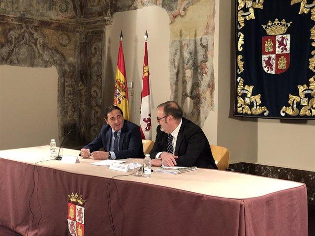 Antonio María Sáez Aguado y Fernando Rey presentan la nueva orden