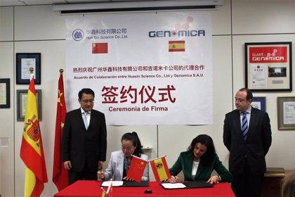 GENOMICA firma un acuerdo para comercializar en China su kit de diagnóstico de VPH