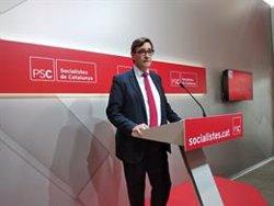 El PSC elegirà els seus candidats de les generals en un Consell Nacional el 2 i 3 de març (EUROPA PRESS)