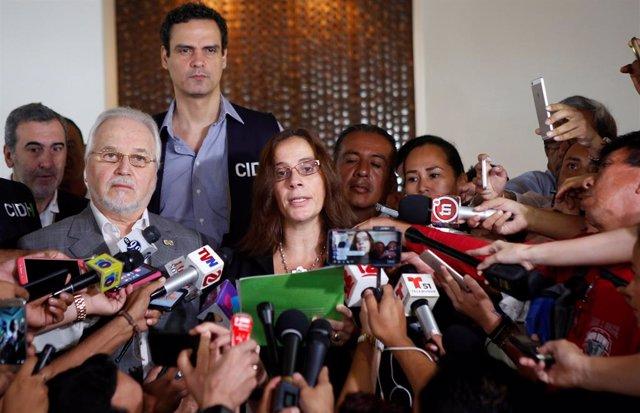 El equipo de la CIDH llega a Nicaragua