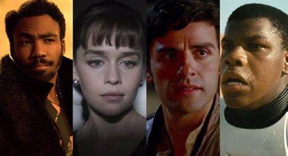 Star Wars: Disney planea las series de Qi'Ra, Lando Calrissian, Finn y Poe Dameron