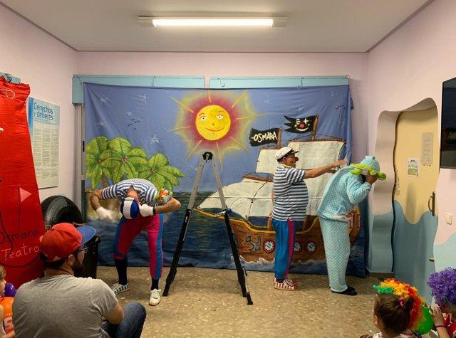 Teatro para niños del Hospital Costa del Sol