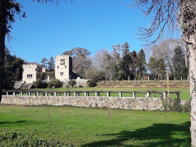 Pazo de Meirás (Sada) na Coruña propiedade da familia Franco