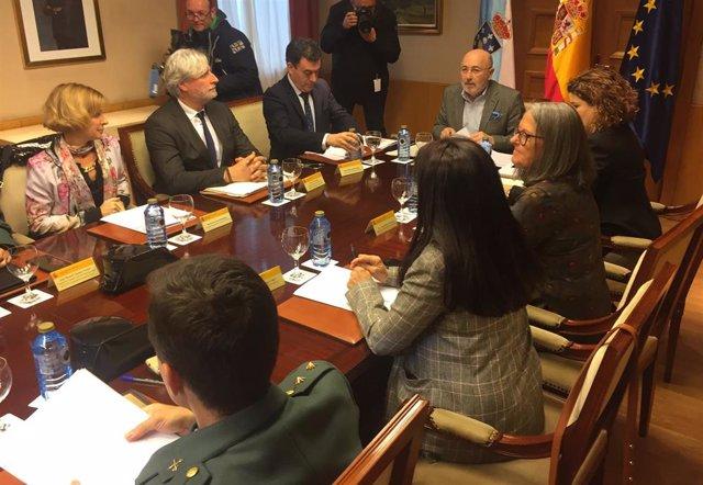 Reunión Comisión de Seguridad Vial en los Caminos de Santiago