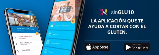 La 'app' de la Asociación de Celíacos y Sensibles al Gluten