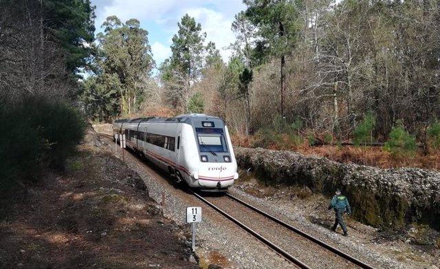 Fallece un hombre de 66 en Catoira (Pontevedra)  arollado por un tren