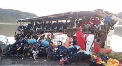 Al menos 24 muertos por un accidente de tráfico en el sur de Bolivia