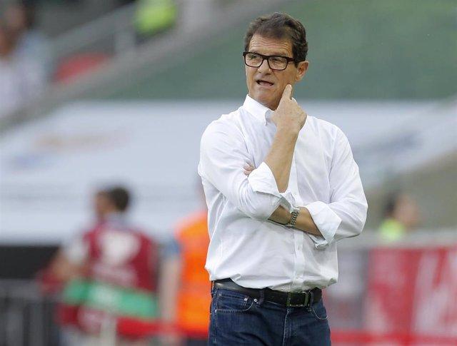 Fabio Capello en su época de entrenador