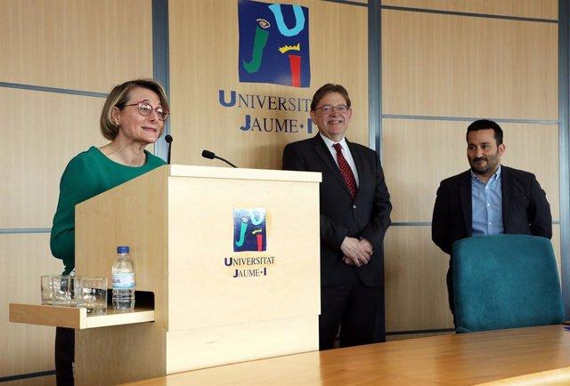 La Generalitat y la UJI firman un protocolo para acabar Ciencias de la Salud