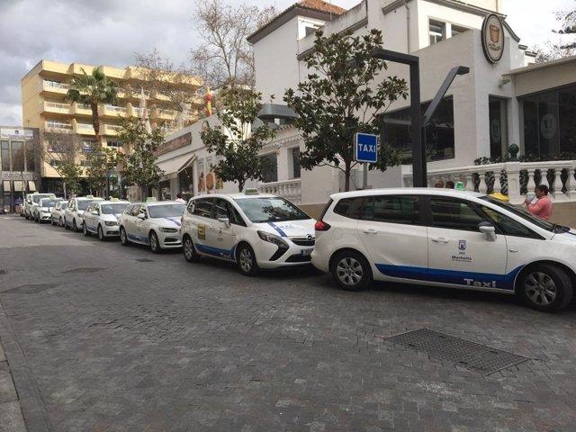 Taxis de Marbella